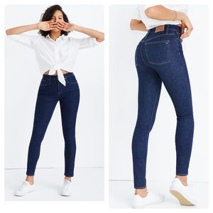 New Madewell Taller Curvy High-Rise Skinny Jeans